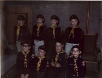 Cub Scouts.  Do you recognize some young Kangs?